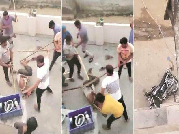 انتہا پسند ہندوؤں کا مسلمان کے گھر پر حملہ اور اہل خانہ پر وحشیانہ اور بہیمانہ تشدد