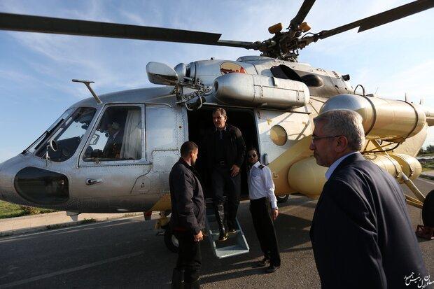 ایرانی نائب صدر کا سیلاب سے متاثرہ علاقوں کا دورہ
