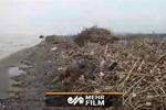 فیلمی از سواحل ساری پس از سیل اخیر
