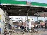 کراچی میں پیٹرول پمپ پر دھماکے کے نتیجے میں ایک شخص ہلاک