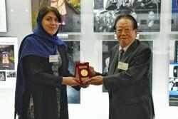 «سحرحسن زاده» برنده مدال طلای جشنواره عکاسی آساهی شیمبون ژاپن شد