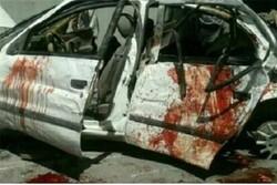 برخورد شدید دو خودروی سواری در محور اهر ۳ کشته و زخمی درپی داشت
