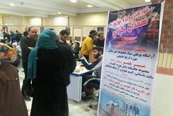 پیشخوانهای اطلاع رسانی علیصدر در مناطق دیدنی همدان فعال شد