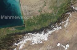 تغطية مستمرة عبر الاقمار الصناعية للمناطق المنكوبة بالسيول في ايران