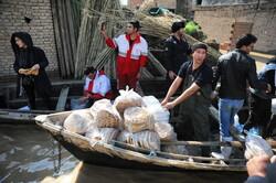 اعزام تیم امدادی معاونت بهداد ناجا به مناطق سیل زده