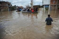 مردم گلستان در حال مدیریت بحران سیل/ کمبود ماشین آلات مشهود است