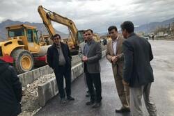 لاین ورودی زیرگذر «بهارستان» خرمآباد زیر ترافیک رفت