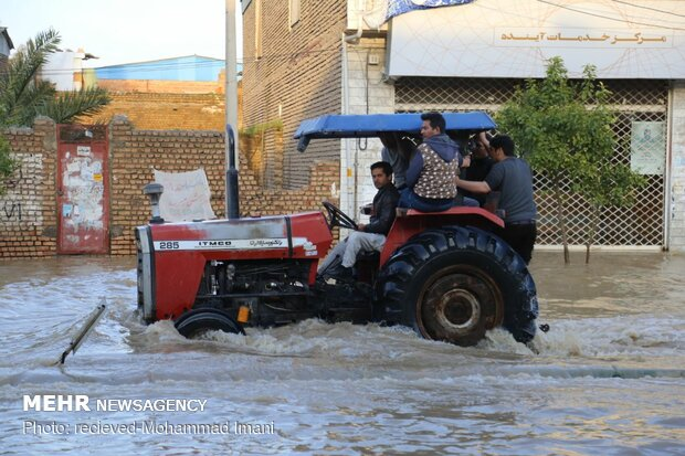 Relief, rescue services still underway in flood-hit areas in Golestan prov.