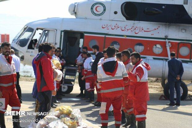گلستان میں سیلاب سے متاثرہ علاقوں میں امداد رسانی کا کام جاری