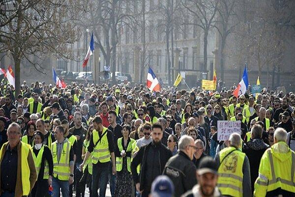 آغاز تجمع جلیقه زردها برای برگزاری آخرین شنبه سیاه در سال ۲۰۱۹
