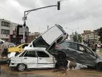 سیلاب شیراز ۱۷ کشته و ۶۸ مصدوم برجای گذاشت