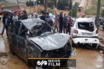 Şiraz'daki sel felaketinden görüntüler