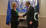 موغيرني ووزير الخارجية الباكستاني يجريان مباحثات بشأن إيران