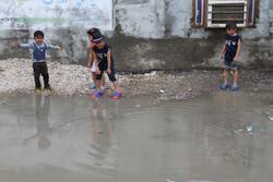 بندر عباس کی سڑکوں پر پانی جمع ہوگیا
