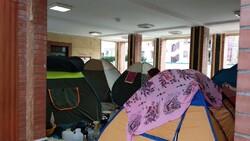 سالنهای ورزشی همدان برای اسکان مسافران نوروزی آماده شدند