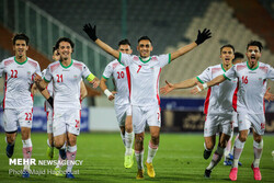 Iran's U-23 football team defeats Yemen in 2020 Olympic qualifiers