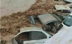 """مياه جارفة تجتاح مدينة """"شيراز"""" وسط إيران ومصرع عدد من المواطنين/بالصور"""