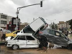 تعداد کشته های سیل شیراز به ۱۱ نفر رسید