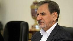 النائب الأول للرئيس الايراني يعد بتعويض المنكوبين بالسيول
