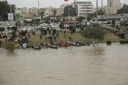 اعمال محدودیت تردد در ساحل رودخانه کارون اهواز