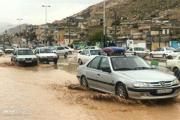 Floods hitting various provinces across Iran