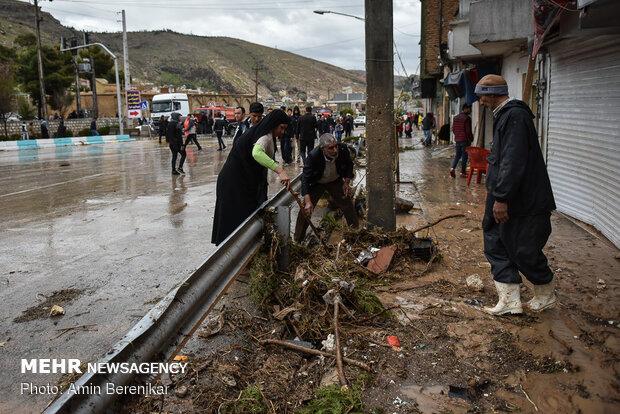 Devastating flash flood in 'Darwazeh Quran', Shiraz