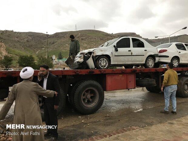 محله های شیراز پس از سیل