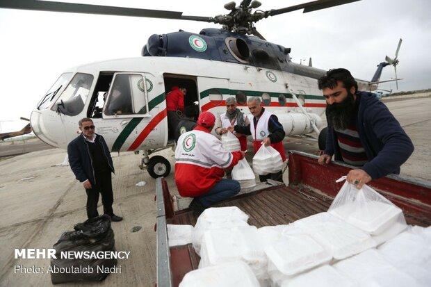 امدادرسانی به مناطق سیل زده گمیشان
