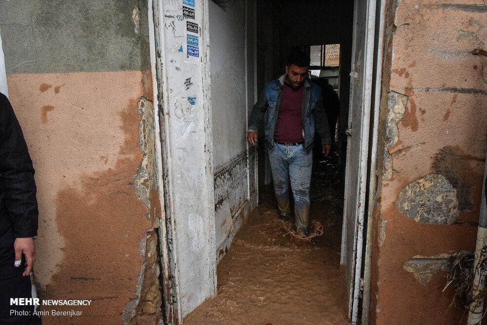 Mehr News Agency - Devastating flash flood in 'Darwazeh