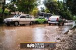 سیلاب به خاورشهر تهران رسید