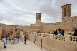 Nevruz yolcuları Yezd kentinde