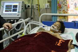 رئیس کل دادگستری فارس از مصدومان سیل شیراز عیادت کرد