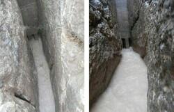 کانال های تاریخی تخت جمشید سیلاب را دفع کردند
