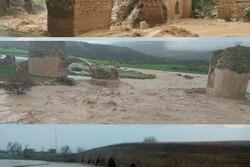 ۵۰ اثر تاریخی لرستان در سیلاب صدمه دیدند/ وارد شدن خسارت ۲۱ میلیاردی
