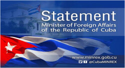 Cuba condemns interference in China's internal affairs