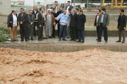 لاریجانی از رودخانه قمرود و جاده جعفریه قم بازدید کرد