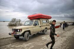 تمهیدات ترافیکی و امنیتی در مناطق سیل زده گلستان بیش تر می شود