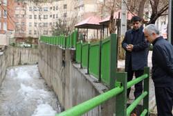 مسیل های شمال تهران تحت کنترل است