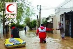 پایگاه های جمع آوری کمک های مردمی هلال احمر قم برپا شد