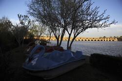"""عودة المياه الى مجاريها في نهر """"زاينده رود"""" باصفهان / صور"""