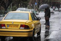 بارش باران و وزش باد در گیلان/ مناطق کوهستانی سپیدپوش شد