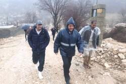 سیل به شبکه آب روستایی شهرستان دنا خسارت سنگینی وارد کرد