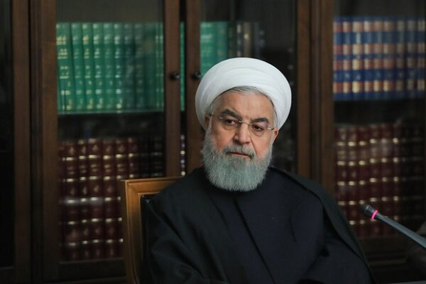 Pres. Rouhani urges IRGC, Army officials to expedite aid operations in flood-hit areas