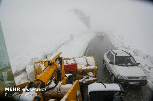 الثلوج والعواصف الثللجية بمرتفعات هورامان