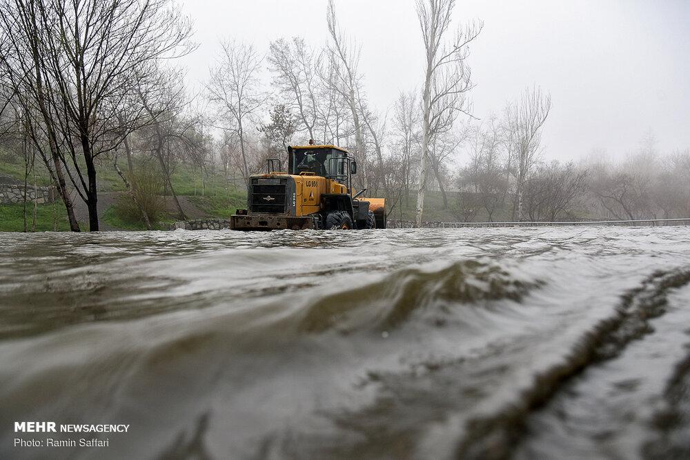 طغیان رودخانه زهره کهگیلویه وبویراحمد/تخریب خط انتقال آب باباکلان