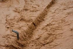 ارتباط ۳۰۰روستای دلفان قطع شد/ قطعی برق و طغیان رودخانه در نورآباد