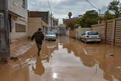 آب در روستای «حاجی آباد دشت» کردکوی فروکش کرد