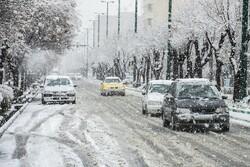 بارش برف آذربایجان غربی را سفیدپوش کرد