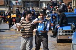 آمادگی پلیس برای مقابله با بحران سیل