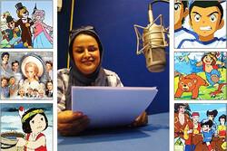 دوبلور کارتونهای خاطرهانگیز مهمان رادیو صبا
